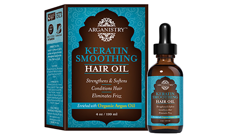 Smoothing Keratin Oil